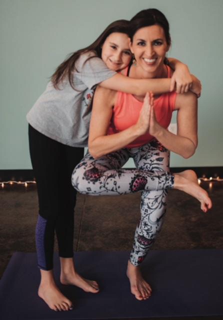 Tina Womack-Roccaforte, Yoga Instructor